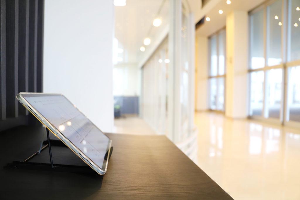 iPad 受付システム